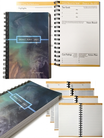 WEEKLY PLANNERS | Graphic Design and Layout in InDesign