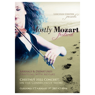 MOSTLY MOZART | Graphic Design, Poster Mockup (Personal Project)