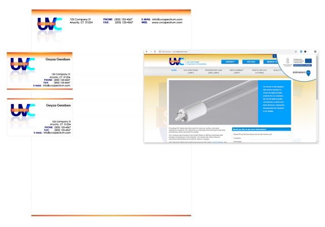 BRANDING | Graphic Design, Logo and Branding Material for UVC Spectrum