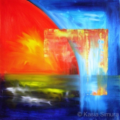 ABSTRACT COMPOSITION | Commissioned Oil Painting