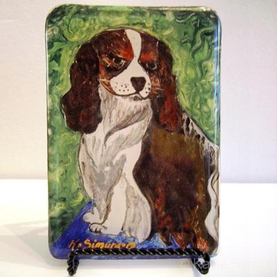 CASPER | Painted Fused Glass