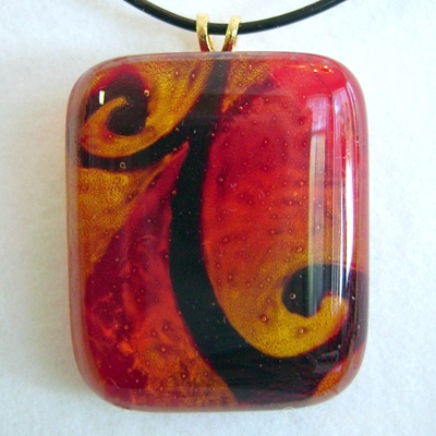 ABSTRACT |  Painted Fused Glass