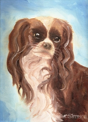 PORTRAIT OF DAZZLER | Commissioned Oil Painting on Canvas